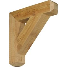 Craftsman Style Outrigger Brackets