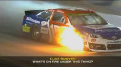 Hot enough for ya? Best in-car audio from Richmond International Raceway | FOX Sports on MSN
