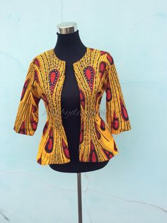 A personal favorite from my Etsy shop https://www.etsy.com/listing/466237605/emma-royalty-jacket-african-jacket