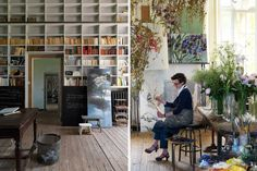 Claire Basler Flower House | Artist's Studio | Striking | Amazing | Fun | Exciting | Unexpected | Spectacular | Masters | Artists | History |  #artHistory #artstudio