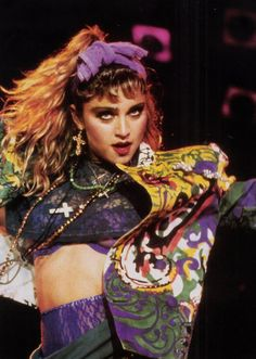 """""""The Virgin Tour"""" 1985. LOVE the jacket."""