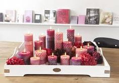 Riverdale Joy of Living > Collectie > Downtown Glamour Clean Candle Jars, Candle Tray, Candle Lanterns, Red Candles, Home Candles, Scented Candles, Pillar Candles, Candle Making, Diy