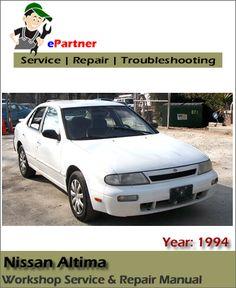 17 best nissan service manual images on pinterest repair manuals rh pinterest com Nissan Altima Maintenance Manual 2005 Nissan Altima Shop Manual