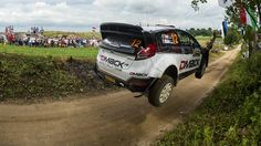 Ott Tanak lidera el Rally de Polonia