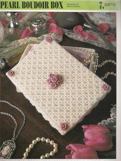 Pearl Boudoir Box Plastic Canvas Pattern by needlecraftsupershop, $3.50