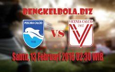 Prediksi Pescara vs Vicenza 13 Februari 2016