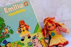 Boneca Emilia caçulinha: