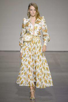 Zimmermann at New York Fashion Week Spring 2018 - Runway Photos Fashion Week, Spring Fashion, Fashion Show, High Fashion, Fashion Design, Style Haute Couture, Couture Fashion, Runway Fashion, Fall Dresses