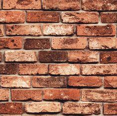 HaokHome 69091 PVC Vinyl Retro Vintage Faux Brick Wallpaper Brown for Home Bar Wall Decoration Wall Paper x 3d Wallpaper Vintage, 3d Wallpaper Red, Stone Wallpaper, Cheap Wallpaper, Modern Wallpaper, Textured Wallpaper, Wall Wallpaper, Wallpaper Roll, Brick Wallpaper Brown