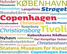 Copenhagen free font family by Morten Rostgaard Olsen, Henrik Birkvig and Ole Søndergaard