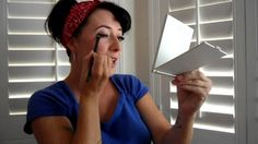 Rosie the Riveter Pin Up look: simple makeup tutorial