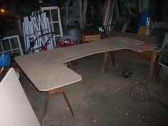 Rough cut of desk by Simplified Building Concepts, via Flickr