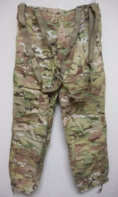 MULTICAM GEN III LEVEL 5 FR TROUSER SOFT SHELL COLD WEATHER SMALL/REG, NWOT