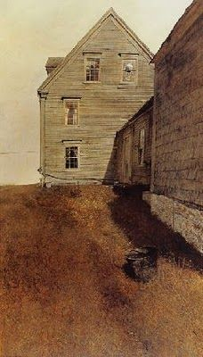 Weatherside - by Andrew Wyeth