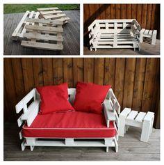 Más de 60 ejemplos de muebles hechos con palets | Bricolaje