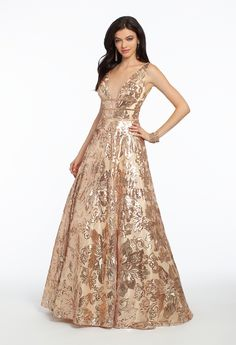 This ritzy ball gown