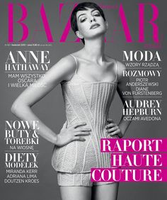 Anne Hathaway Harper's Bazaar Poland April 2013 ...