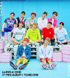 Wanna One   1st Mini Album Cover (Pink Ver.) 워너원의 데뷔 앨범 1X1=1(TO BE ONE) 커버 공개! 2017. 08. 07 (MON) 18:00 Album Release! #WannaOne #TOBEONE