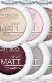 Velvet Matt Eyeshadow - Catrice http://glosscosmeticos.com/producto/velvet-matt-eyeshadow-catrice/