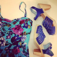 Summer dress by Louche and clogs by Maguba @ HIPPO! Royale https://www.facebook.com/HIPPOROYALE