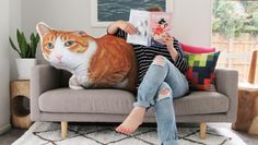 Larger than life custom-made pet pillows unique way to immortalise pets