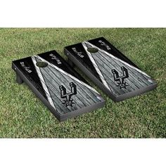 Proudly represent NBA basketball while showing off your team spirit with this officially licensed, regulation-sized cornhole game set! Your game is ready to play right out of the box. #team #showing #officially