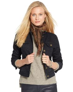 Stretch Denim Jacket - Lauren Jeans Co. Jackets - RalphLauren.com