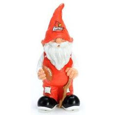 Louisville Cardinals NCAA Garden Gnome 11 Male