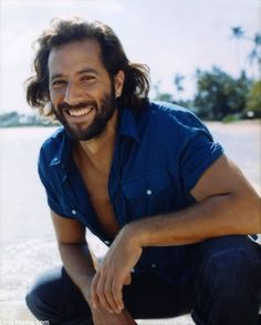 """Oh, Desmond Hume (Henry Ian Cusick.) """"Hullo, Brotha."""" That Scottish voice of yours really gets me. And, it doesn't hurt that you were the focus of my favorite episode of LOST."""