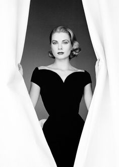 ourprincessgrace: Grace Kelly photographed by Howell Conant, 1955.