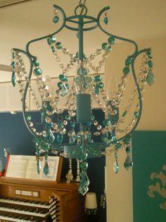 DIY Linear Crystal Chandelier Pinterest Chandeliers Crystals - Crystal chandelier ikea