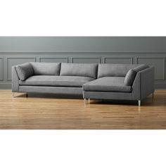 decker 2-piece sectional sofa | CB2