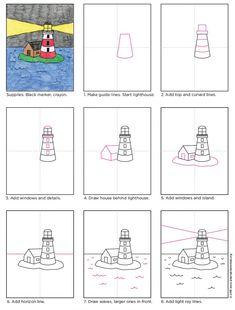 556 best lighthouse fun for kids images in 2019 light house rh pinterest com