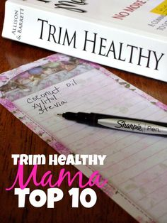 Planning to start the Trim Healthy Mama way of eating? Here's a great printable shopping list that will get you started on the path to success!