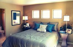 Modern bedroom furniture design Archives - Page 13 of 124 - Amazing Home Design Bedroom Window Design, Bedroom Decor, Bedroom Ideas, Bedroom Windows, Bedroom Interiors, Cozy Bedroom, Bedroom Inspiration, Bedroom Colors, Wall Decor
