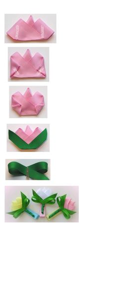 How to Make a Tulip Hair Bow Clips Instruction hipgirlclips