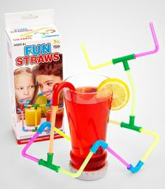 Fun Straws 80 pc $11.50