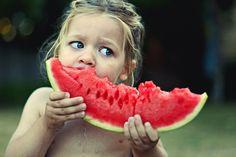 watermelon work. Too cute!