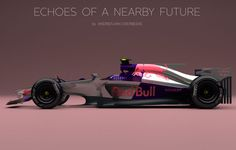 Formula One Cars Reimagined by Artist Andries van Overbeeke: Check out these futuristic concept car ideas for McLaren-Honda, Williams and Red Bull. Red Bull F1, Formula 1 Car, Car Sketch, Indy Cars, First Car, Car And Driver, Future Car, Grand Prix, Cool Cars