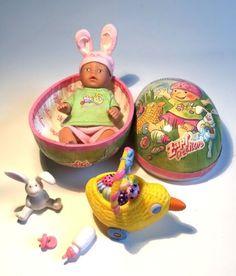 Die süße kleine Mini Baby Born liegt in ihrem Osterei und träumt.Ein tolles Ostergeschenk in letzter Minute.Sehr guter Zustand, da hier Teddys beliebter waren als Puppen : (Bitte die Fotos ansehen. Privatangebot. Abholung in Hamburg-Volksdorf. Seht Euch auch meine anderen Angebote an !!!