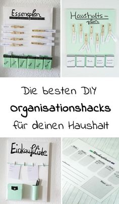 DIY Organizing Hacks for Your Household: Save time and energy with these cool DIY Household Ideas th