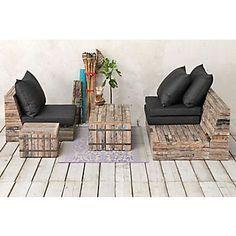 Pallet Patio Furniture Inspiration