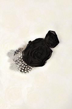 Mademoiselle Noir Hair Brooch