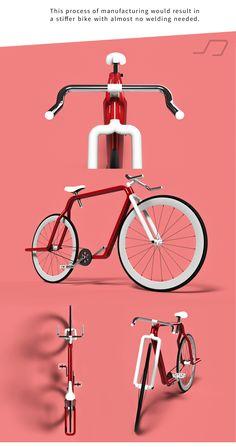 Piped bike, un concept de vélo urbain monovitesse tubulaire ! | Fixie Singlespeed, infos vélo fixie, pignon fixe, singlespeed.