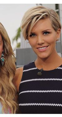 Charissa Thompson short hair