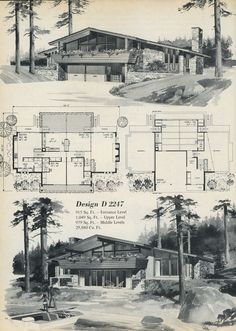1969 ... rural lair on 3 levels! | Flickr - Photo Sharing!