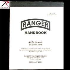 US ARMY RANGER HANDBOOK 税抜 1,500円