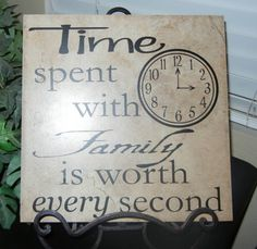 Items similar to Time Spent With Family Is Worth Every Second Vinyl Lettering ONLY (Tile NOT included) on Etsy Tile Projects, Vinyl Projects, Ceramic Tile Crafts, Wood Craft Patterns, Family Wall Decor, Vinyl Quotes, Vinyl Crafts, Wood Crafts, Vinyl Tiles