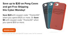 Save up to $20 on Pong Cases + Free Shipping. www.pongcase.com