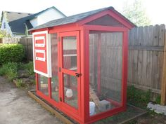 i like this Chicken Coop - BackYard Chickens Community - a little more complicated than the simple cottage one, but still doable and would probably last longer